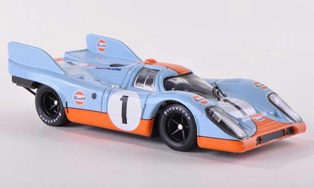 Porsche 917 1971 1/43 Brumm K No.1 Scuderia JWA-Gulf 1000km Monza Siffert/Bell miniature