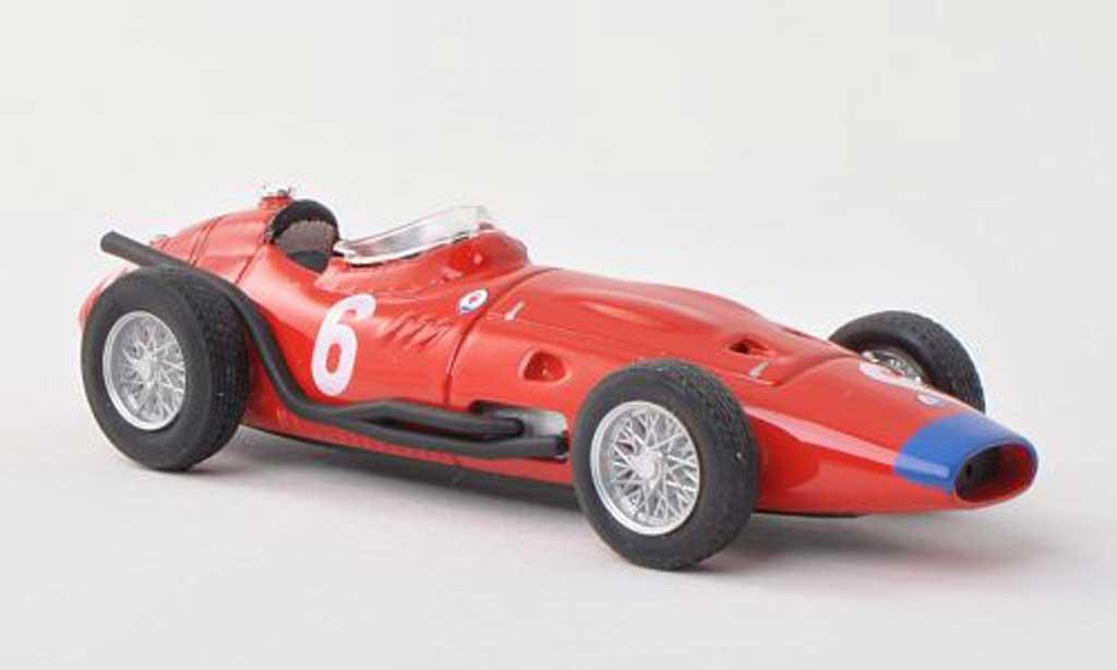 Maserati 250 1/43 Brumm F No.6 GP Italie  1957 J.Behra miniature