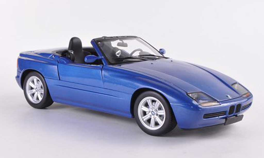 Bmw Z1 1/18 Minichamps blue  1988 diecast