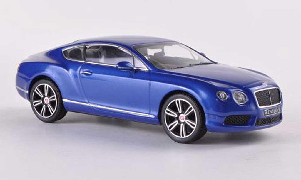 Bentley Continental GT 1/43 Minichamps V8 bleue LHD 2011 miniature
