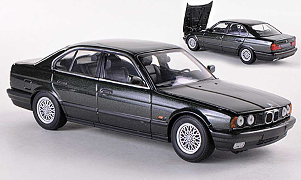 bmw 525 e34 miniature i gun 1988 minichamps 1 43 voiture. Black Bedroom Furniture Sets. Home Design Ideas