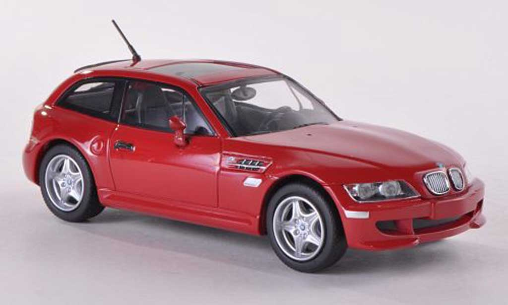 Bmw Z3 coupe 1/43 Minichamps M red 2002 diecast
