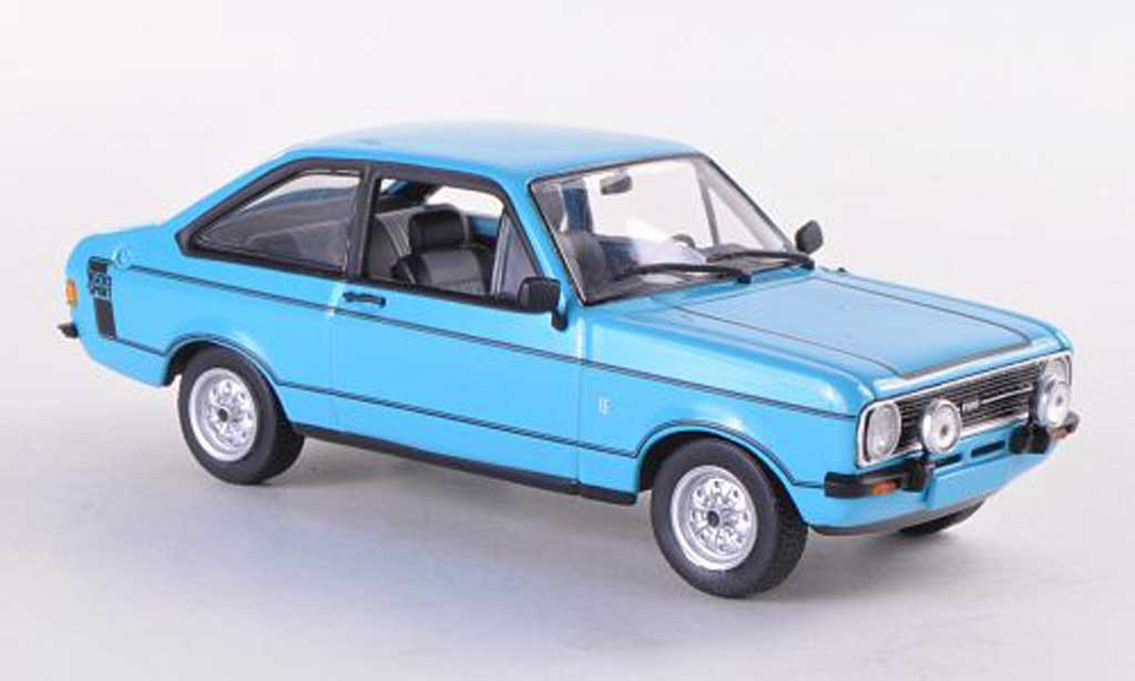 Ford Escort MK2 1/43 Minichamps 1600 Sport bleue  1975 miniature