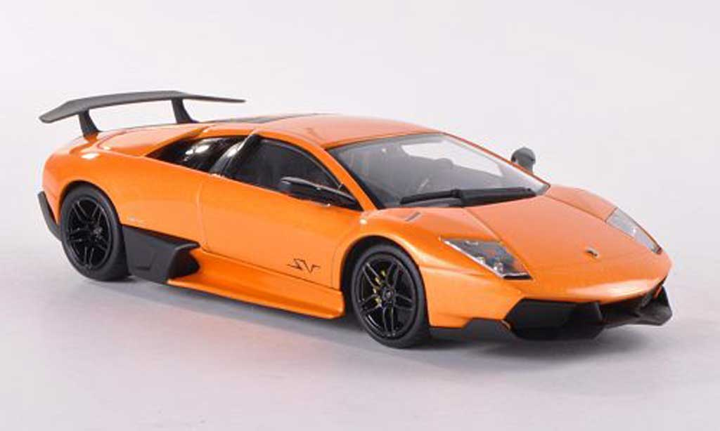Lamborghini Murcielago LP670 SV orange  2009 Minichamps. Lamborghini Murcielago LP670 SV orange  2009 miniature 1/43
