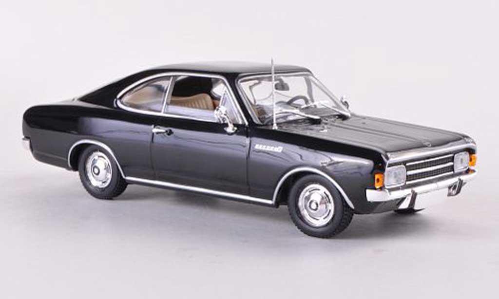 Opel Rekord 1/43 Minichamps C Coupe noire 1966 miniature