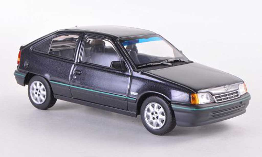 Opel Kadett 1/43 Minichamps E Dream noire 1989 miniature