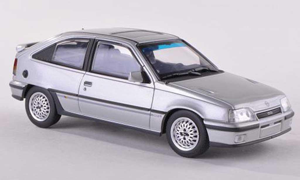 Opel Kadett E 1/43 Minichamps GSI grise 1989 miniature