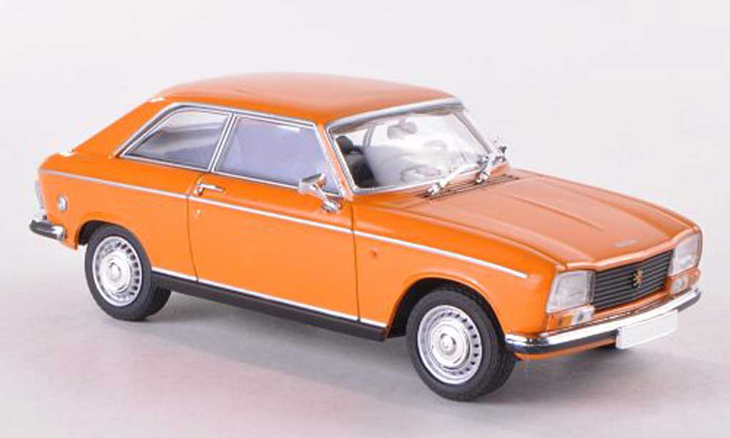 Peugeot 304 coupe 1/43 Minichamps orange 1972 modellautos