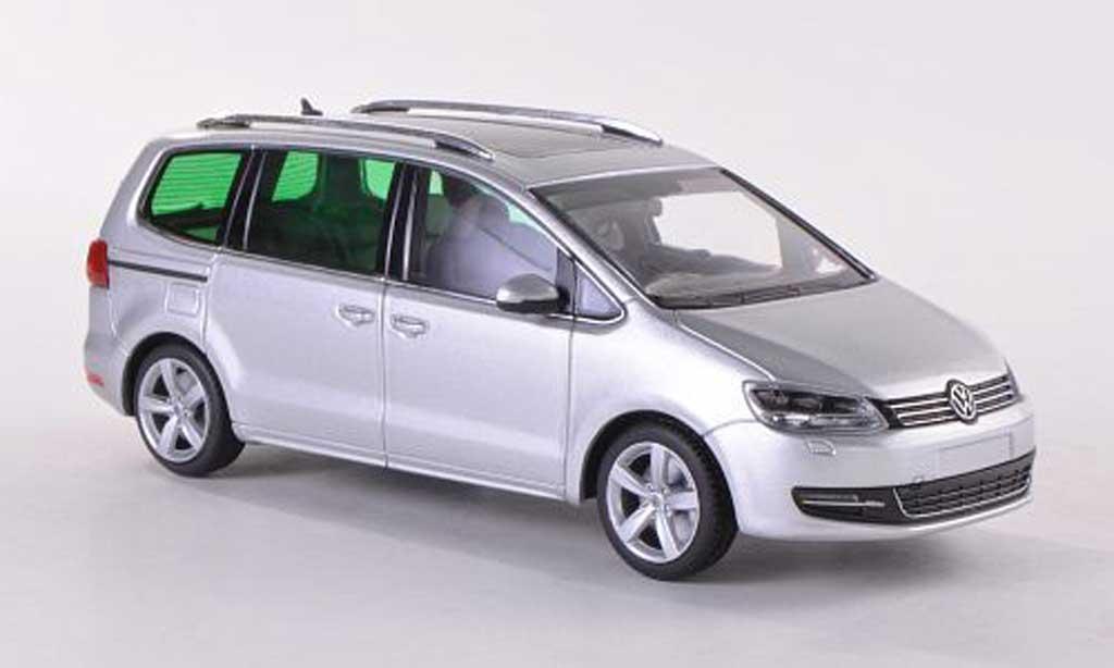 Volkswagen Sharan gray  2010 Minichamps. Volkswagen Sharan gray  2010 miniature 1/43