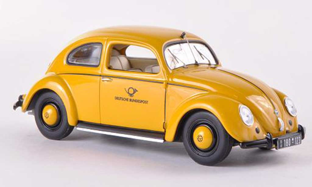 Volkswagen Kafer 1/43 Minichamps kafer 1200 Export Deutsche Bundespost 1951 miniature