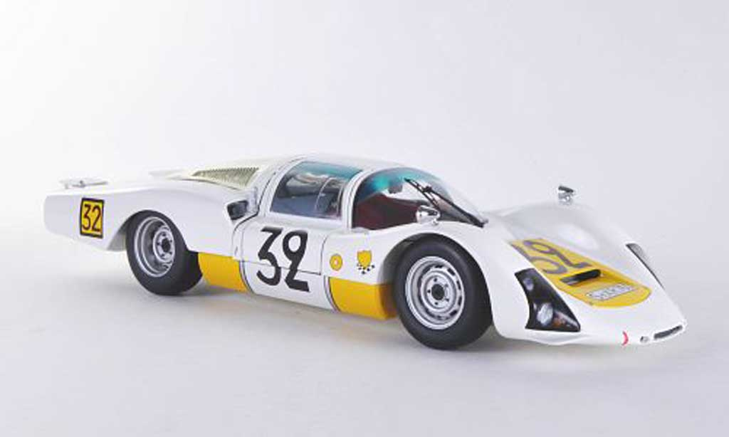 Porsche 906 1966 1/18 Minichamps LH No.32 System Engineering 24h Le Mans miniature