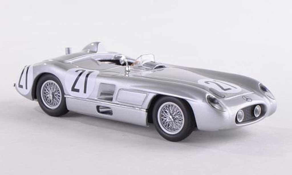 Mercedes 300 SLR No.21 24h Le Mans  1955 Kling/Simon Minichamps. Mercedes 300 SLR No.21 24h Le Mans  1955 Kling/Simon Le Mans miniature 1/43