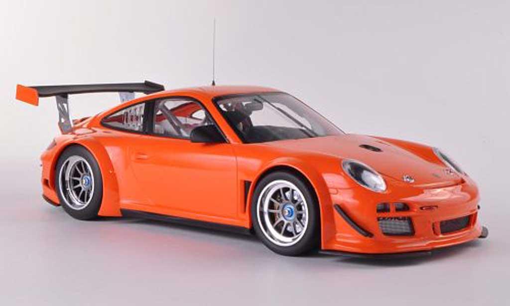 Porsche 997 GT3 1/18 Minichamps R 2010 orange Plain Body diecast model cars