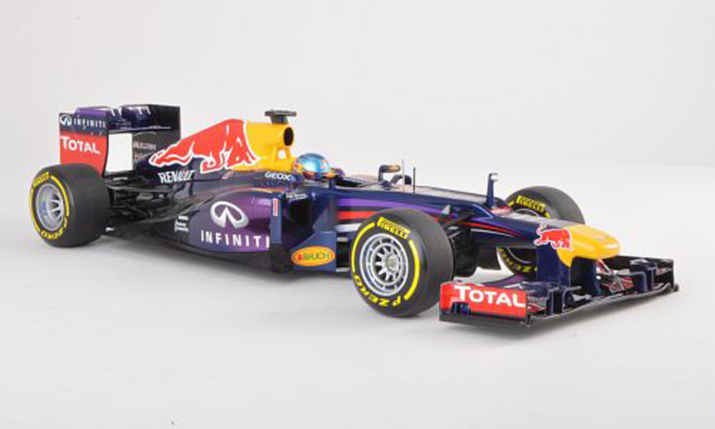 Red Bull F1 2013 1/18 Minichamps RB9 No.1 Presentationsfahrzeug S.Vettel miniature
