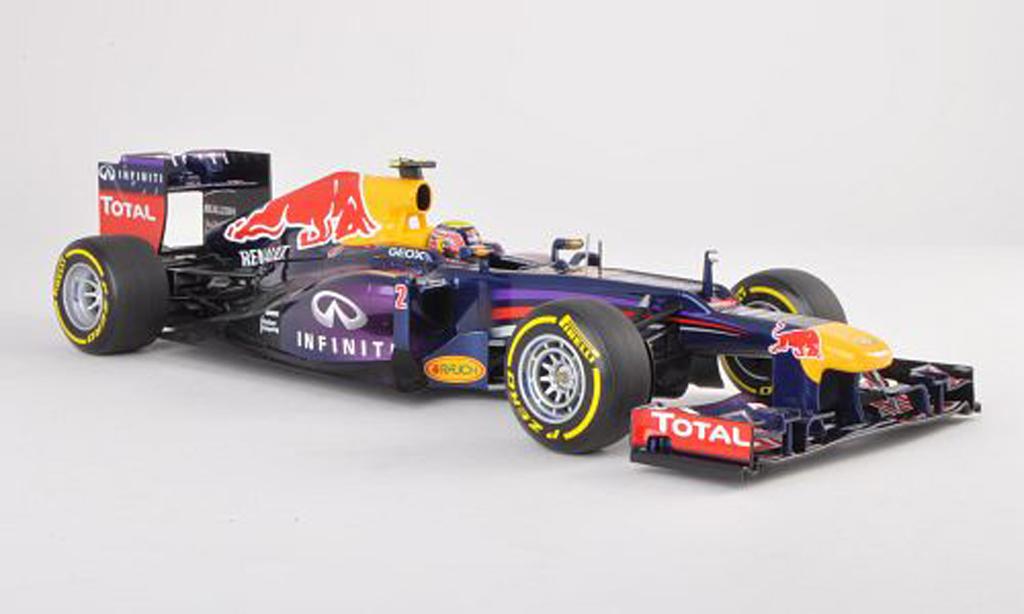 Red Bull F1 2013 1/18 Minichamps RB9 No.2 Presentationsfahrzeug M.Webber miniature