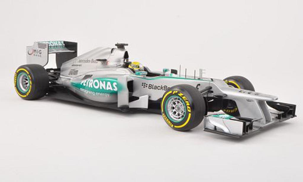 Mercedes F1 2013 1/18 Minichamps AMG Team No.9 Petronas Presentationsfahrzeug N.Rosberg miniature