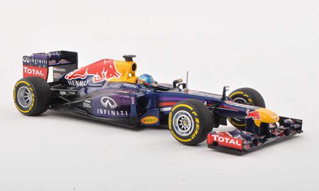 red bull f1 2013 miniature racing no 1 infinity s vettel showcar minichamps 1 43 voiture. Black Bedroom Furniture Sets. Home Design Ideas