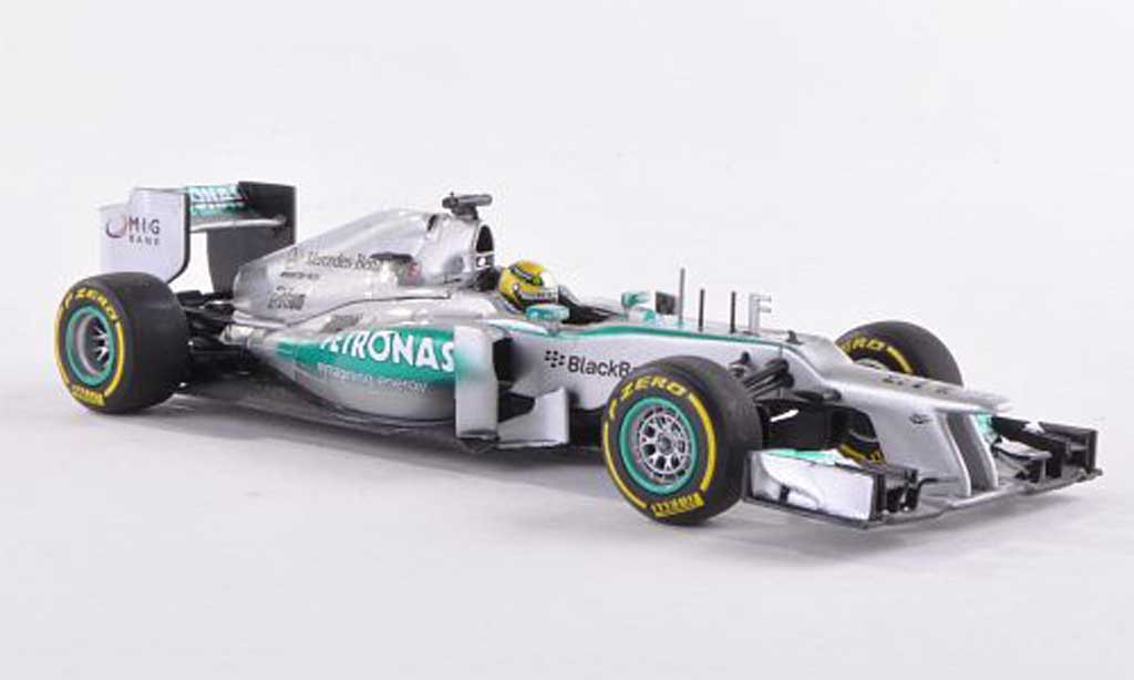 Mercedes F1 1/43 Minichamps AMG Team No.9 Petronas N.Rosberg Showcar  2013 miniature