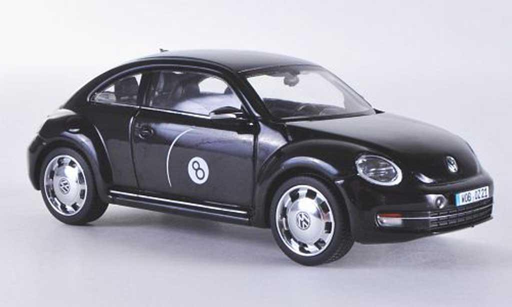 Volkswagen Beetle 1/43 Schuco noire Eightball 2011 miniature