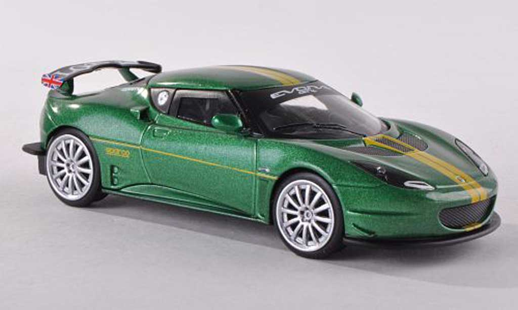 Lotus Evora GT4 1/43 Corgi Sport vert  miniature
