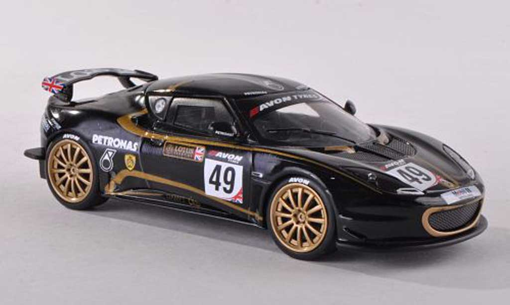 Lotus Evora GT4 1/43 Corgi No.49 Sport UK Britannique GT Meisterschaft  2012 Marco Attard/Alistair Mackinnon miniature