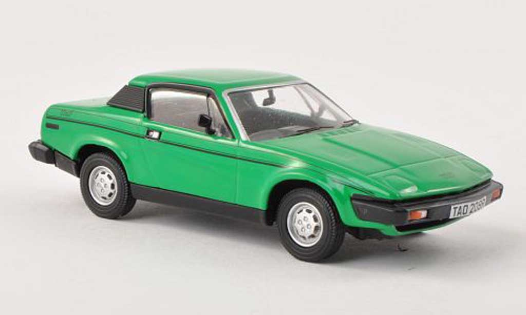 Triumph TR7 1/43 Vanguards vert RHD miniature