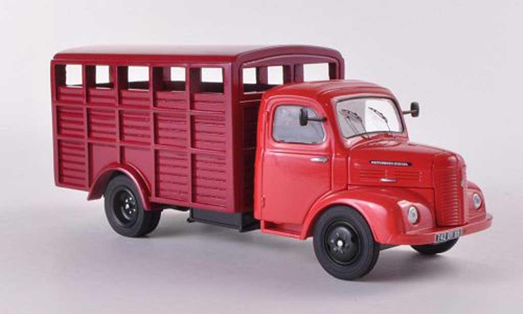 Hotchkiss PL50 1/43 Eligor Viehtransporter rouge/rouge miniature