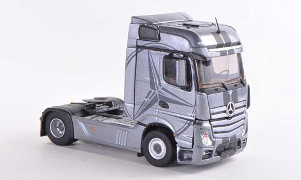 Mercedes Actros 1/43 Eligor MP4 Bigspace grise miniature