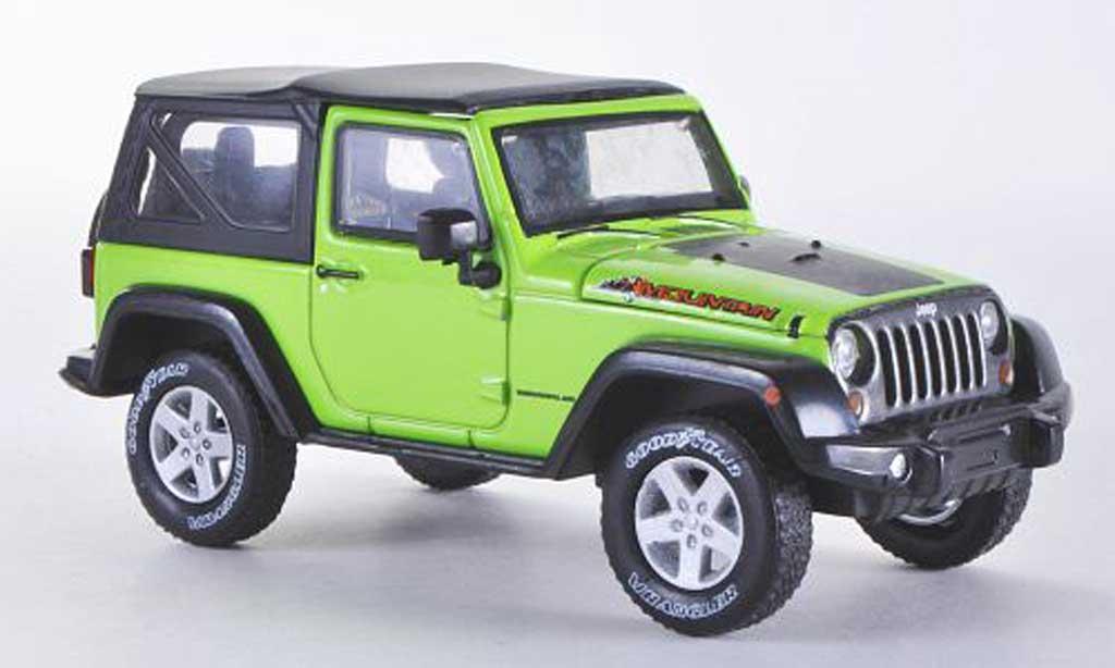 Jeep Wrangler 1/43 Greenlight Mountain Special Hardtopgrun 2012 miniature
