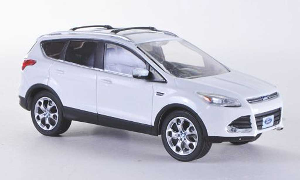 Ford Escape 1/43 Greenlight (Kuga II) blanche 2013 miniature
