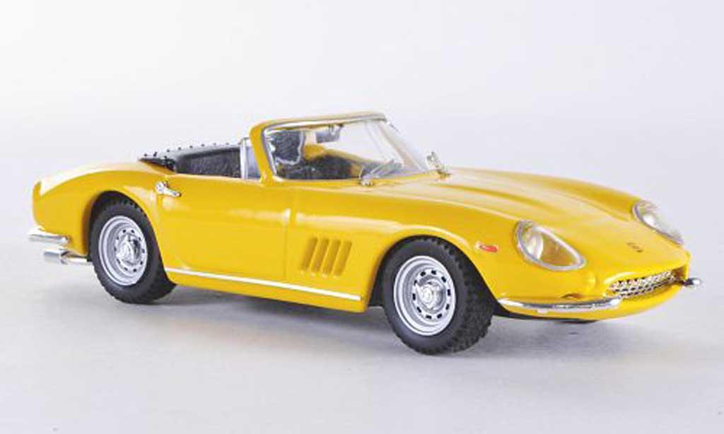 Ferrari 275 1/43 Best Spyder jaune GTB/4 miniature