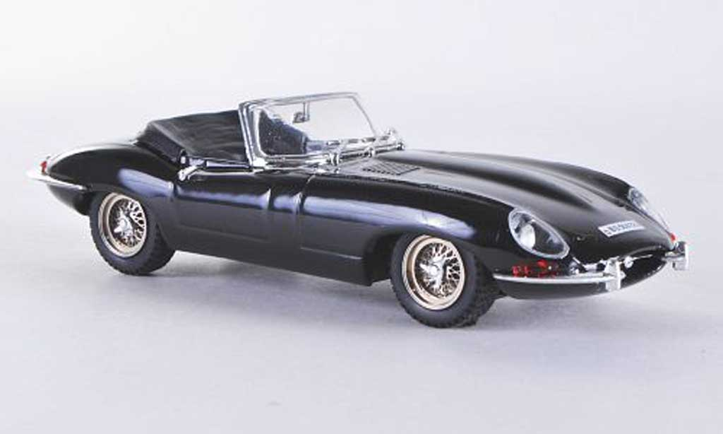 Jaguar E-Type 1/43 Best E Coupe Spider noire miniature