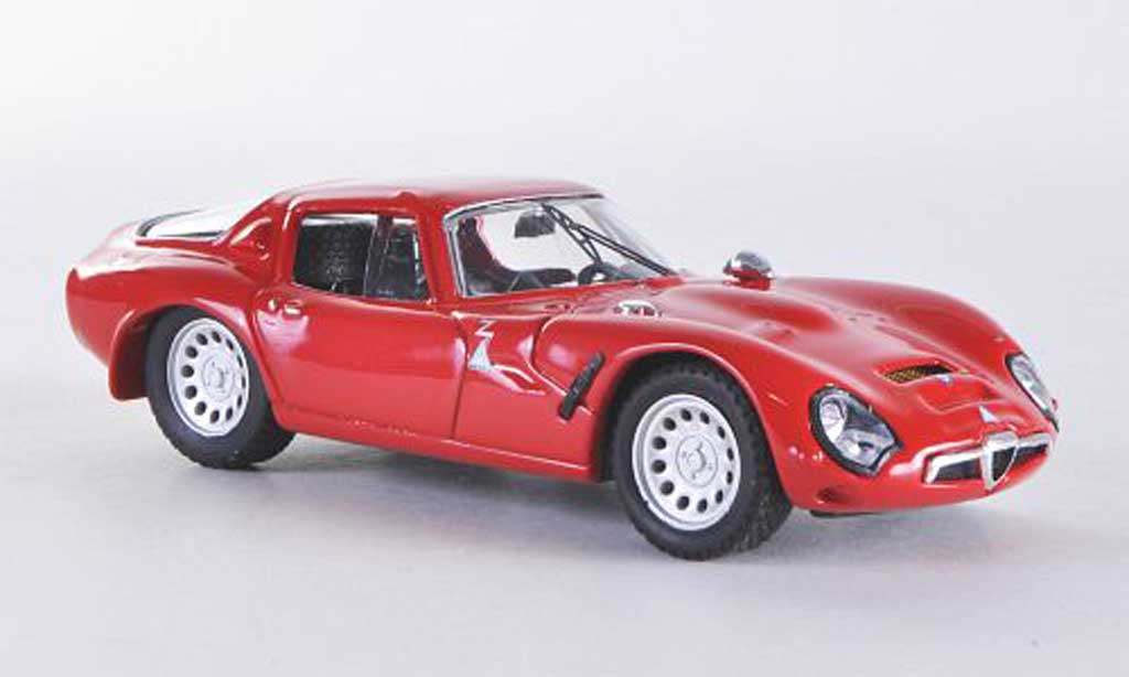 Alfa Romeo TZ2 1/43 Best rouge 1965 miniature