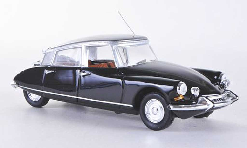 citroen ds 19 miniature pallas noire 1965 rio 1 43. Black Bedroom Furniture Sets. Home Design Ideas