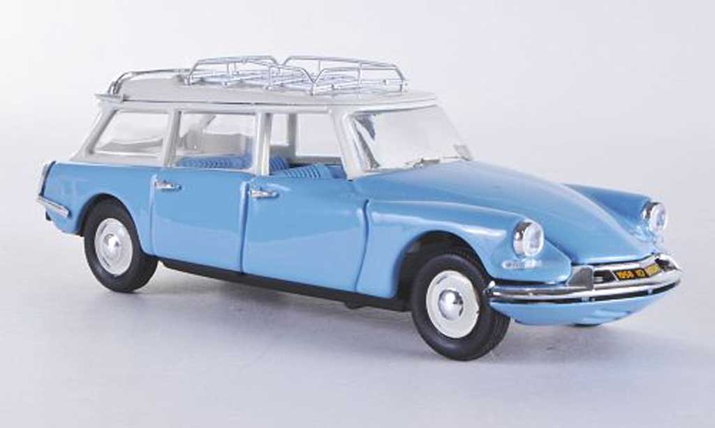 Citroen ID 19 1/43 Rio Break bleu 1958 diecast model cars