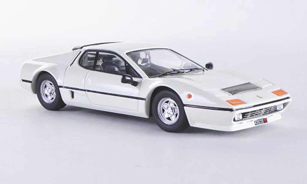 Ferrari 512 BB 1/43 Best blanche 1976 miniature