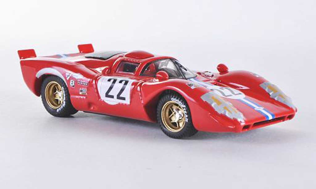 Ferrari 312 P 1/43 Best Coupe Sebring No.22 1970 miniature