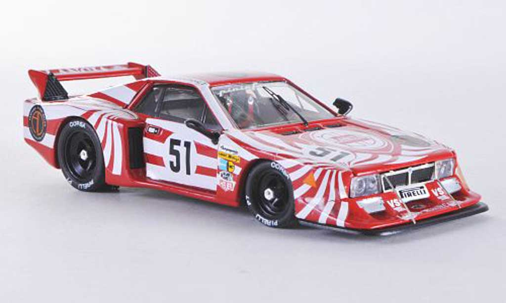 Lancia Beta Monte Carlo 1/43 Best Turbo Le Mans No.51 1980 Darniche/Fabi/Heyer miniature