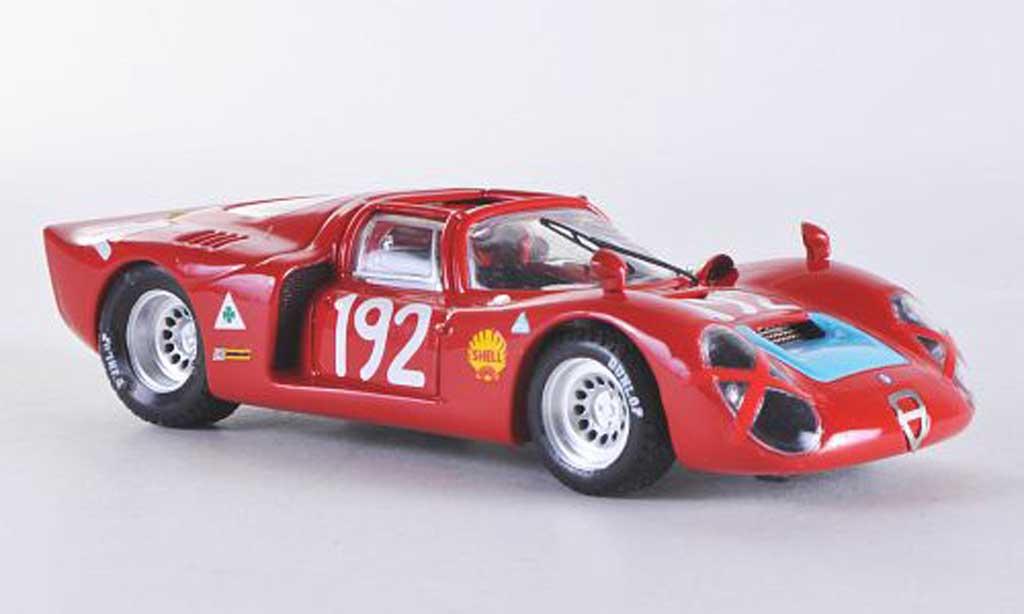 Alfa Romeo 33.2 1968 1/43 Best SP Targa Florio No.192 Bianchi/Casoni miniature