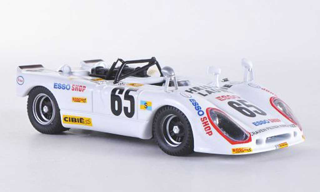 Porsche 908 1974 1/43 Best Flunder Le Mans No.65 Poirouge/Rondeau miniature