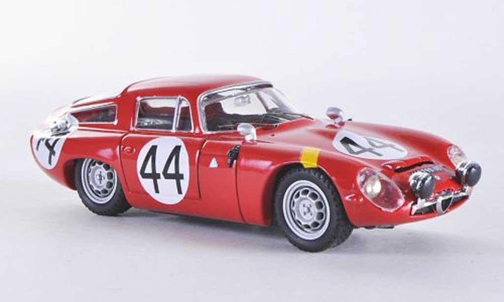 Alfa Romeo TZ1 1/43 Best Le Mans No.44 1965 Koob/Finchel miniature