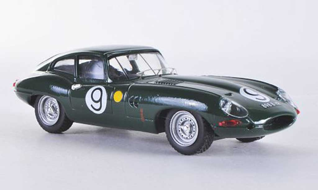 Jaguar E-Type 1962 1/43 Best 1962 E Coupe Le Mans No.9 Lumsden/Sargent miniature