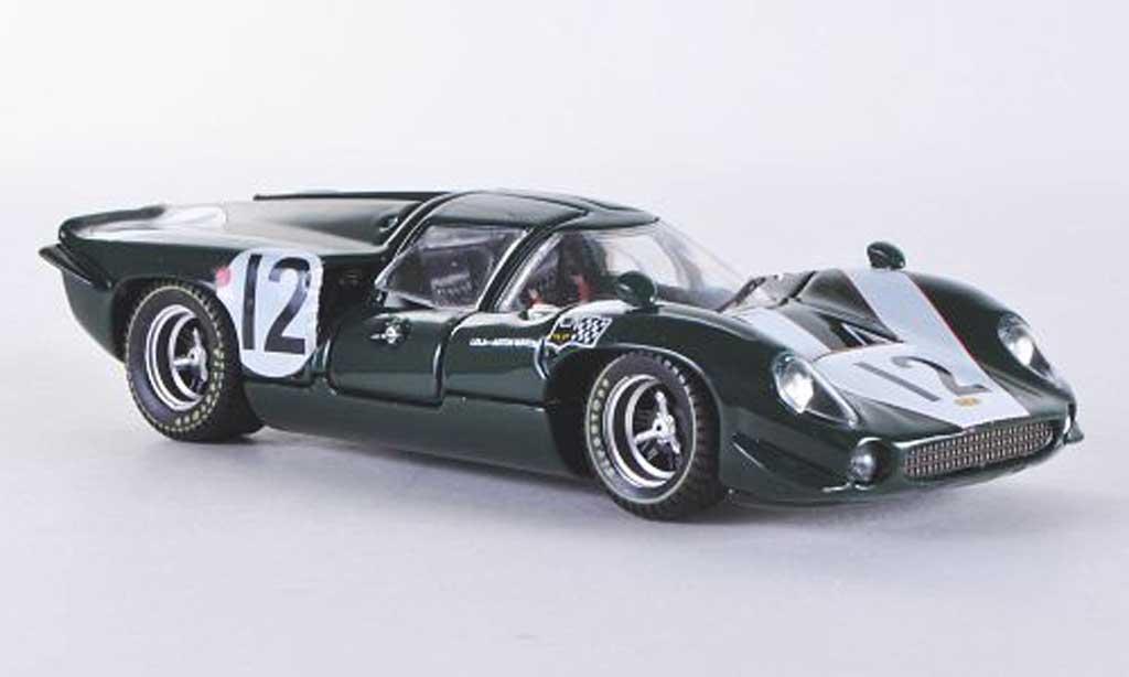 Lola T70 1967 1/43 Best Coupe Le Mans No.12 C.Irwin/Klerk miniature