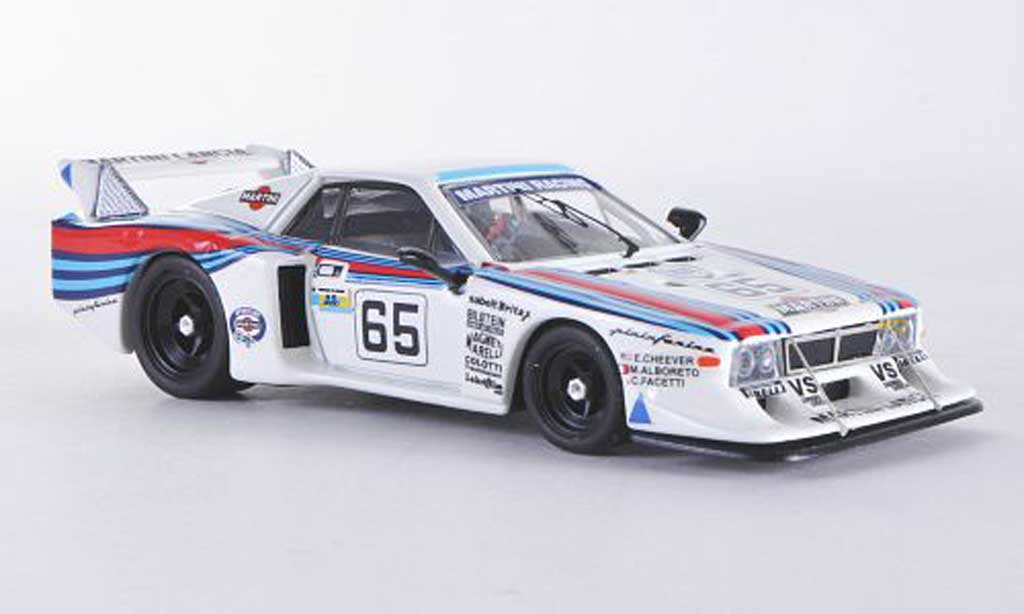 Lancia Beta Monte Carlo 1/43 Best NO.65 1981 Cheever/Alboreto/Facetti miniature