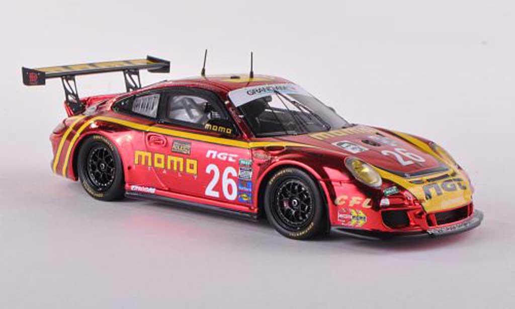 Porsche 997 GT3 CUP 1/43 Spark GT3 Cup 2012 No.26 Momo 24h Daytona N.Tandy/C.Kauffmann/S.Edwards/H.Cisneros/G.Moretti coche miniatura