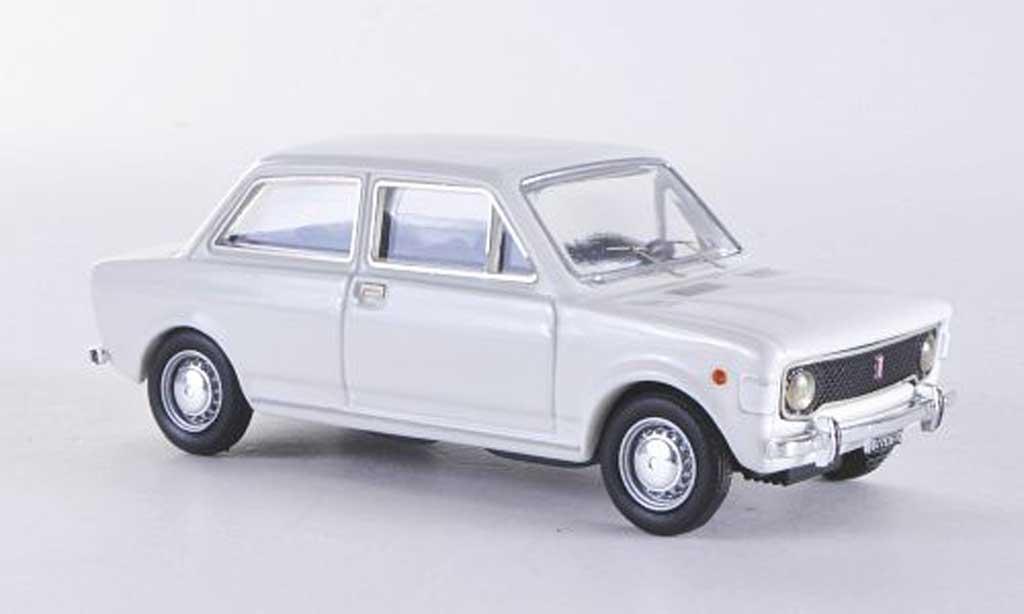 Fiat 128 1/43 Rio 2 turig blanche 1969 miniature