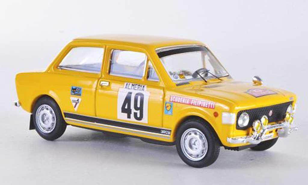 Fiat 128 1/43 Rio Rally Gr1 Montecarlo No.49 1972 Lier/Frattini miniature
