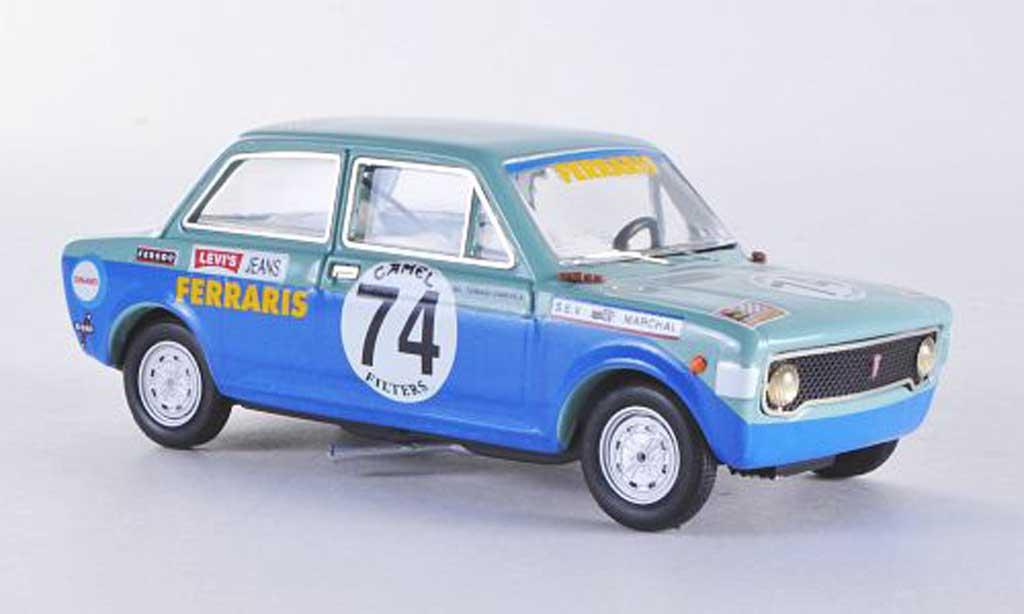 Fiat 128 1/43 Rio SPA Francorchamps No.74 1971 De Tommasi/Vimerc miniature
