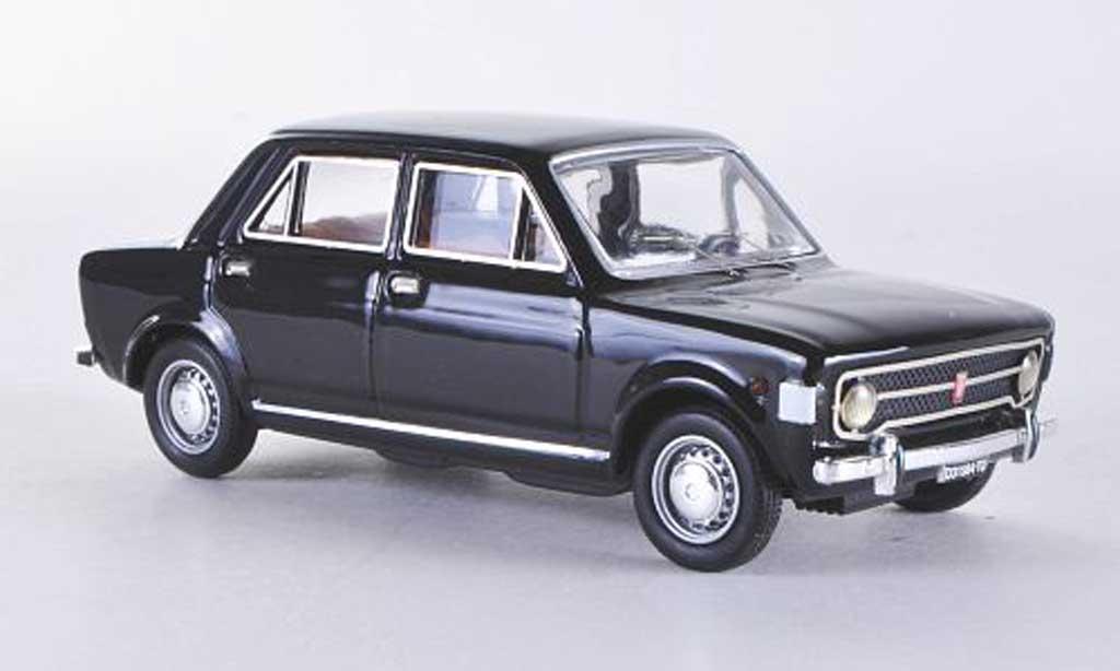 Fiat 128 1/43 Rio 4 turig noire 1969 miniature