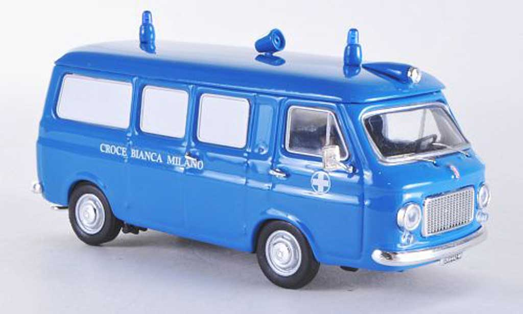 Fiat 238 1/43 Rio Ambulanz whitees Kreuz Milano diecast model cars